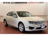 2011 White Suede Ford Fusion SE V6 #66774443