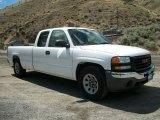 2005 Summit White GMC Sierra 1500 SLE Extended Cab #66774416