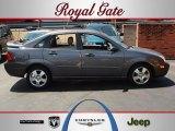 2005 Liquid Grey Metallic Ford Focus ZX4 SES Sedan #66773924