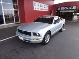 2005 Satin Silver Metallic Ford Mustang V6 Deluxe Coupe #66774181