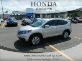2012 Alabaster Silver Metallic Honda CR-V EX-L #66774176