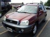 2004 Merlot Red Hyundai Santa Fe GLS #66774354