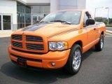 2004 Custom Orange Dodge Ram 1500 HEMI GTX Regular Cab #6557584