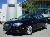 2008 Deep Sea Blue Pearl Effect Audi A4 2.0T Special Edition Sedan #662789