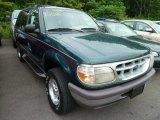 1997 Deep Jewel Green Pearl Ford Explorer XLT 4x4 #66774080