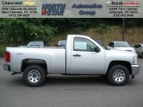 2012 Silver Ice Metallic Chevrolet Silverado 1500 LS Regular Cab 4x4 #66774074