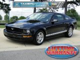 2007 Black Ford Mustang V6 Deluxe Coupe #66774315