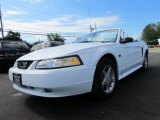 2000 Crystal White Ford Mustang GT Convertible #66820905