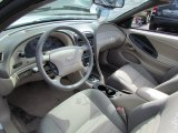 2000 Ford Mustang GT Convertible Medium Parchment Interior