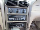 2000 Ford Mustang GT Convertible Controls