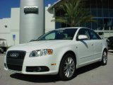 2008 Ibis White Audi A4 2.0T Special Edition Sedan #662787