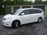 2011 Blizzard White Pearl Toyota Sienna Limited AWD #66820271