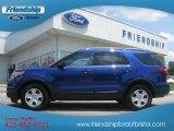 2013 Deep Impact Blue Metallic Ford Explorer 4WD #66820266