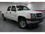 2003 Summit White Chevrolet Silverado 1500 LS Crew Cab 4x4 #66820578