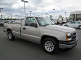 2006 Silver Birch Metallic Chevrolet Silverado 1500 Work Truck Regular Cab #66820570