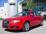 2008 Brilliant Red Audi A4 2.0T Special Edition Sedan #662786