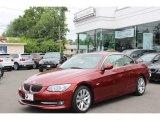 2011 Vermillion Red Metallic BMW 3 Series 328i Convertible #66820236
