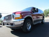 2001 Toreador Red Metallic Ford Excursion Limited 4x4 #66820859