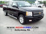 2012 Black Granite Metallic Chevrolet Silverado 1500 LT Crew Cab 4x4 #66820534