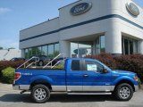 2012 Blue Flame Metallic Ford F150 XLT SuperCab 4x4 #66820183