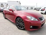 2008 Matador Red Mica Lexus IS F #66820110