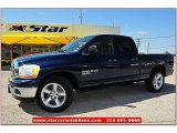 2006 Patriot Blue Pearl Dodge Ram 1500 SLT Lone Star Edition Quad Cab #66820492