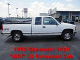 1999 Summit White Chevrolet Silverado 1500 LS Z71 Extended Cab 4x4 #66820771