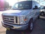 2008 Silver Metallic Ford E Series Van E350 Super Duty XLT 15 Passenger #6562280