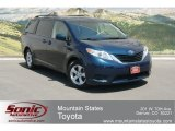 2011 South Pacific Blue Pearl Toyota Sienna LE #66820064