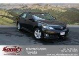 2012 Attitude Black Metallic Toyota Camry SE #66820036