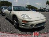 2003 Dover White Pearl Mitsubishi Eclipse GS Coupe #66819927