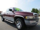 2001 Dark Garnet Red Pearl Dodge Ram 1500 SLT Club Cab #66820427