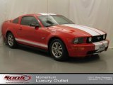 2005 Torch Red Ford Mustang V6 Deluxe Coupe #66820412