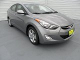 2013 Titanium Gray Metallic Hyundai Elantra GLS #66820387