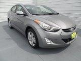 2013 Titanium Gray Metallic Hyundai Elantra GLS #66820383