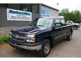 2005 Dark Blue Metallic Chevrolet Silverado 1500 Extended Cab 4x4 #66820376