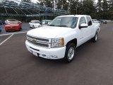 2012 Summit White Chevrolet Silverado 1500 LT Crew Cab 4x4 #66820637
