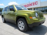 2012 Rescue Green Metallic Jeep Patriot Sport #66820359