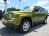 2012 Jeep Patriot Rescue Green Metallic