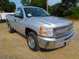 2012 Silver Ice Metallic Chevrolet Silverado 1500 LS Regular Cab #66820617