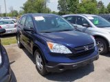 2009 Royal Blue Pearl Honda CR-V LX #66883125