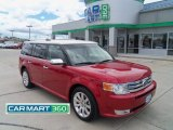 2010 Red Candy Metallic Ford Flex Limited AWD #66882735