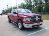 2010 Inferno Red Crystal Pearl Dodge Ram 1500 Lone Star Crew Cab #66883094