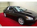2010 Crimson Black Nissan Maxima 3.5 SV #66882342