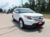 2013 White Platinum Tri-Coat Ford Explorer Limited #66883092