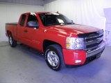 2007 Victory Red Chevrolet Silverado 1500 LT Z71 Extended Cab 4x4 #66882713