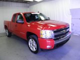 2008 Victory Red Chevrolet Silverado 1500 LT Extended Cab #66882705