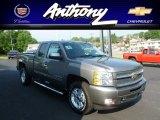 2012 Graystone Metallic Chevrolet Silverado 1500 LT Extended Cab 4x4 #66883055
