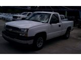 2005 Summit White Chevrolet Silverado 1500 LS Regular Cab #66882990