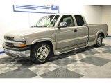 2001 Light Pewter Metallic Chevrolet Silverado 1500 LS Extended Cab #66882984
